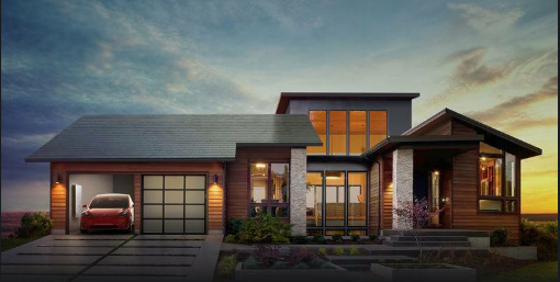 Elon Musk Unveils Tesla's New Stylish Solar Panels 1